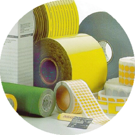 application example different tapes