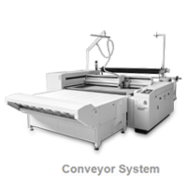 Laser Cutting System L-1200 with Conveyor System