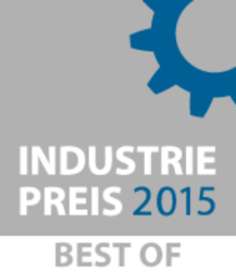 Certificado: INDUSTRY AWARD 2015