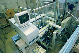 Integrated system in production line