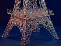 Eiffel Tower - acrylic laser cutting