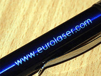 Promotional items - metal engraving