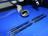 Pen - metal engraving