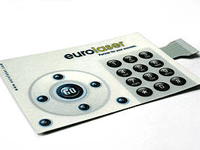 Membrane switches - polycarbonate laser cutting