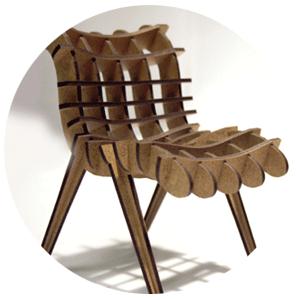 mdf furniture cut by laser - Sample Furniture