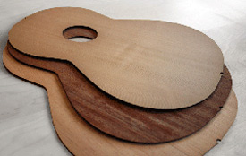 Laser cutting of music instruments