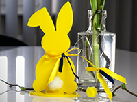 Acrylic easter decoration | laser cutting