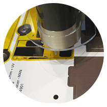 Camera recognition for printed MDF sheets