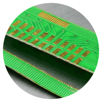 Polyimide is also known as Kapton ® and is used for flexible circuit paths and circuit boards