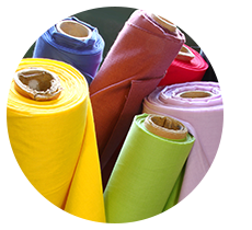 Textiles and fabrics made of aramid, polyester, fleece or Kevlar ® are ideally suitable for laser cutting