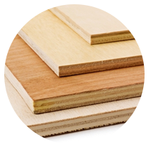 Dry, resin-free and homogenous panels are suitable for the laser cutting of wood.