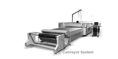 The CO₂ Laser Machine L-3200 with Conveyor System