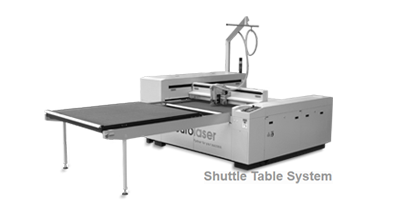Cutting Machine M-1600 with Shuttle Table System