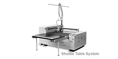 Laser Cutter M-800 with the Shuttle Table System