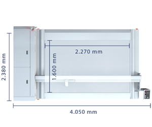 Technical specifications of the Laser Cutter XL-1600