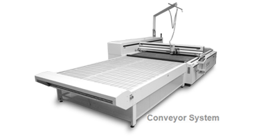 CO2 Laser-Anlage XL-3200 mit Conveyor-System