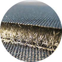 Precise cuts in spacer fabrics