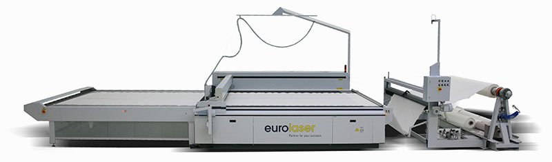 eurolaser conveyor system with winding unit