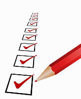 Checklist for selecting the correct provider