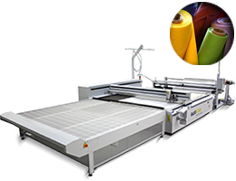 Laser Cutter System 2XL-3200 for textile